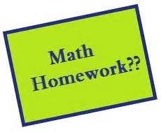 Free math homework pages